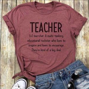 TEACHER CASUAL TOP